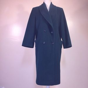 53ebc4eda71 Wool Trench Coat Vintage Forecaster Women 10 Green